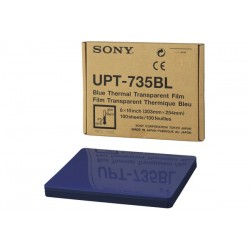 UPT-735BL 8x10 Blue Transparency Film