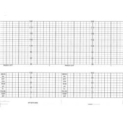 MRC HP 9270-0485 Chart Paper, 151.6mm x 50', 40 pads/box