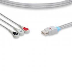 Datex Ohmeda Compatible ECG Leadwire - 545327-HEL