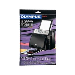 200361 DyeSub Photo Paper PA4-NU for P-400 Printers, 100 sheets