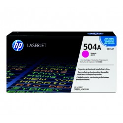 CE253A HP 504A Magenta Toner Cartridge