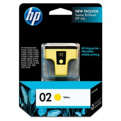 C8773WN HP 02 Yellow Ink Cartridge