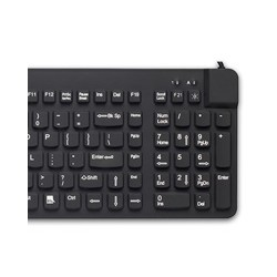 RCLP/BKL/B1 Really Cool Low Profile Keyboard with backlight, Black