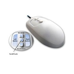 MMOUSE5/G1 Mighty Mouse 5 Off White