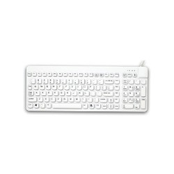 RCK/G2/BKL ReallyCool Waterproof Keyboard with backlight, White