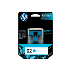 C8771WN HP 02 Cyan Ink Cartridge
