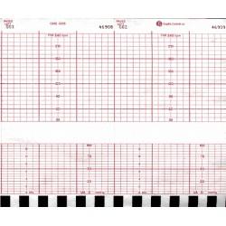 CMS 4305 Chart Paper, 152mm X 47', 40 pads/box