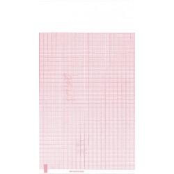 """WA 94018-0000 Chart paper, Red Grid, 8.5"""" x 11"""""""