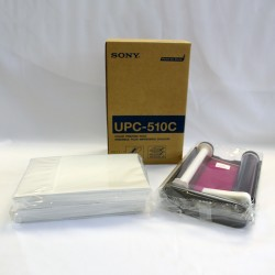 UPC-510C Color print paper & reloadable ribbon in cartridge