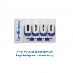 NDS 30H0001 ZeroWire Mobile Wall Charger 4 Bay