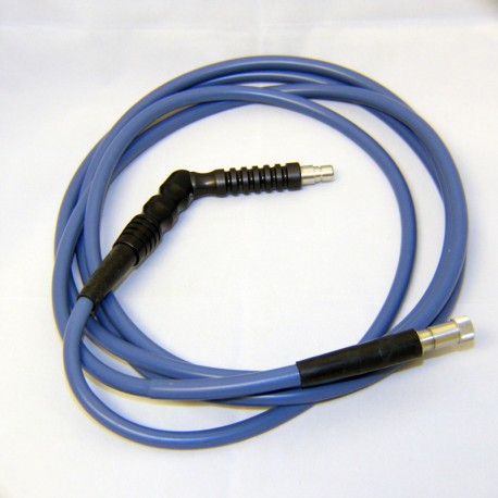 Blue Arthrex Cable, w/ Black Pistol Grip