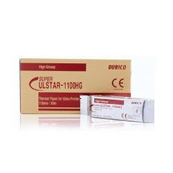 Ulstar 1100HG High Gloss thermal paper, 110mm B&W Rolls, 5 Rolls/box
