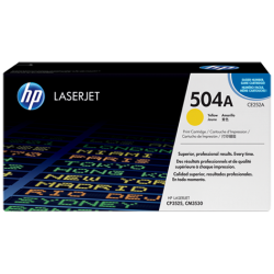CE252A HP 504A Yellow Toner Cartridge