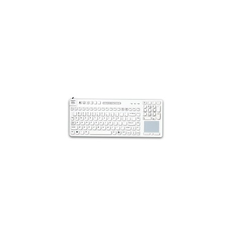 RCT/BKL/G2 Really Cool Touch Keyboard with backlight Hygienic White