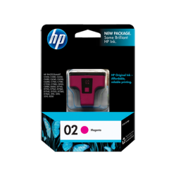C8772WN HP 02 Magenta Ink Cartridge