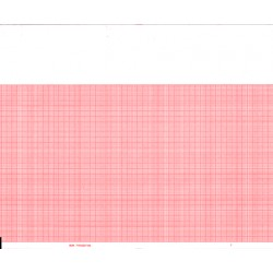 "BDK 716-023700 ECG Chart Paper, 8.465"" X 183', 10 Pads/bx"